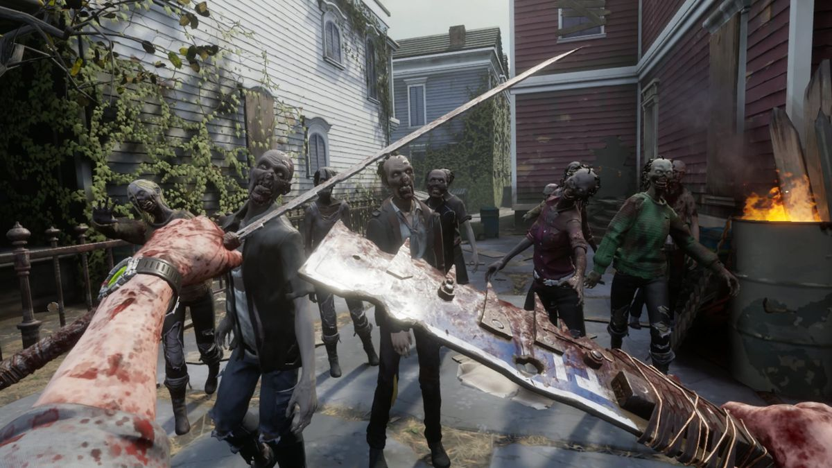 The Walking Dead Saints Sinners VR Horror Game