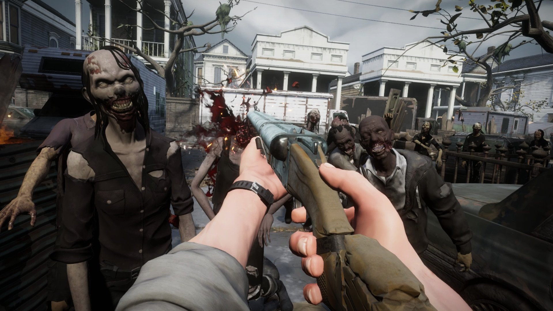 the walking dead saints and sinners vr horror game